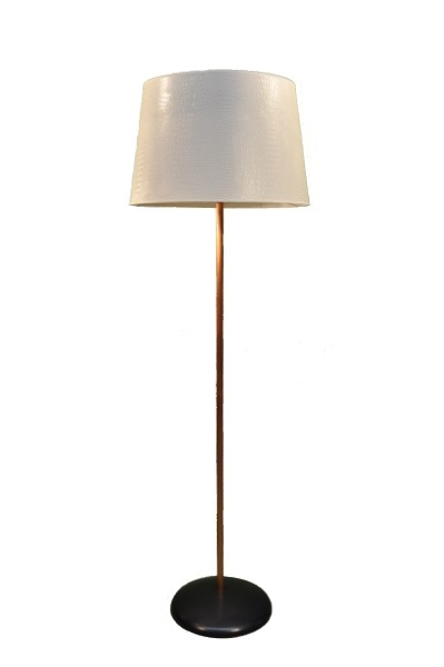 Good copper vloerlamp